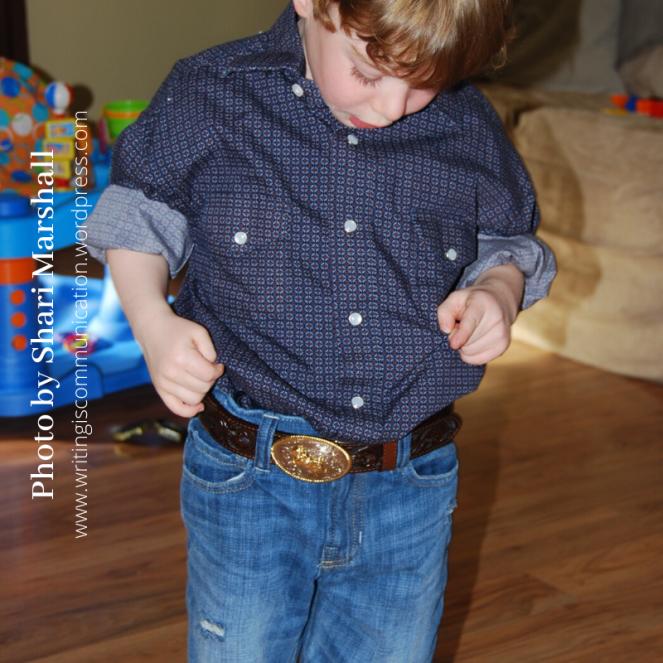 Wow am I a Cowboy